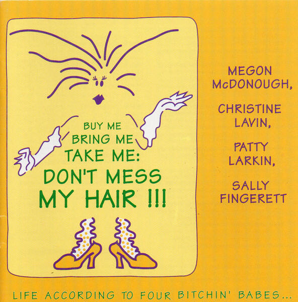 CD cover of buy me bring me dont mess my hair
