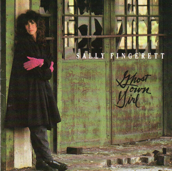 Cover of Sally Fingerett's cd Ghost Town Girl