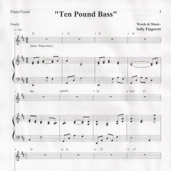 Ten Pound Bass sheet music