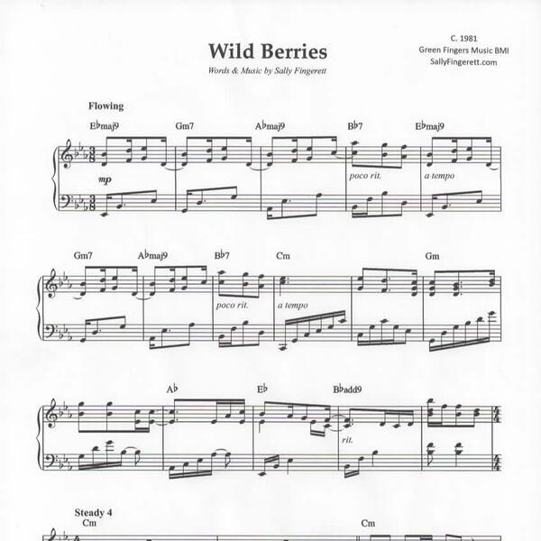 Wild Berries sheet music