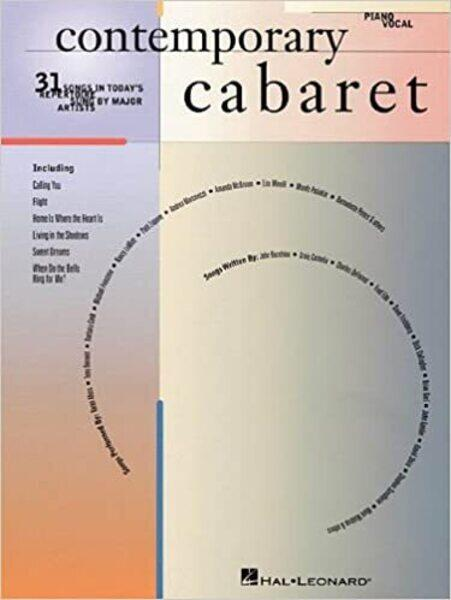 Contemporary Caberet Songbook cover