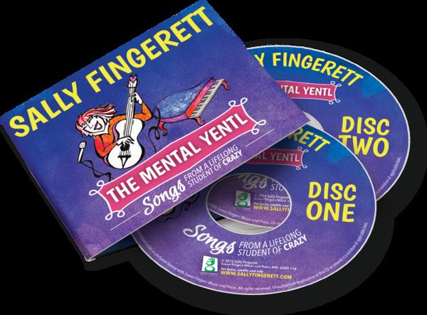 The Mental Yentl 2 CD set.