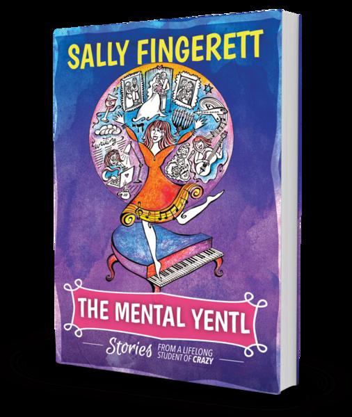 Sally Fingerett Book cover